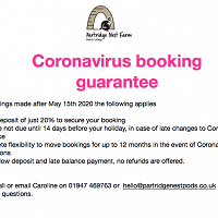 Coronavirus Booking Guarantee